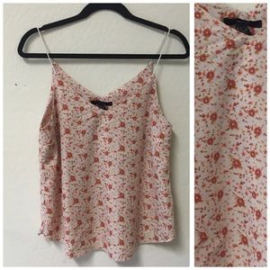 Forever 21 tank top blouse floral SMALL